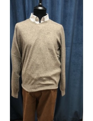 Pull beige Taupe